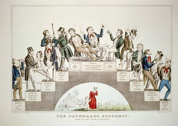 The Drunkard's Progress - Color