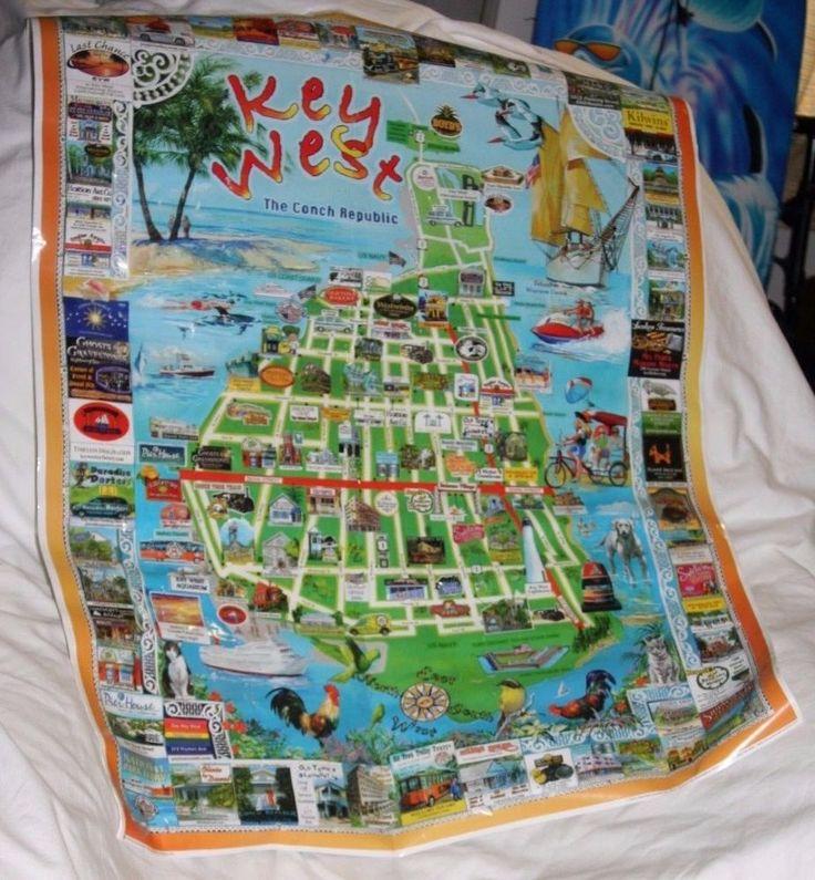 Ms de 25 ideas increbles sobre mapa de Key West en Pinterest