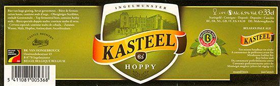 kasteel_hoppy Belgian beers