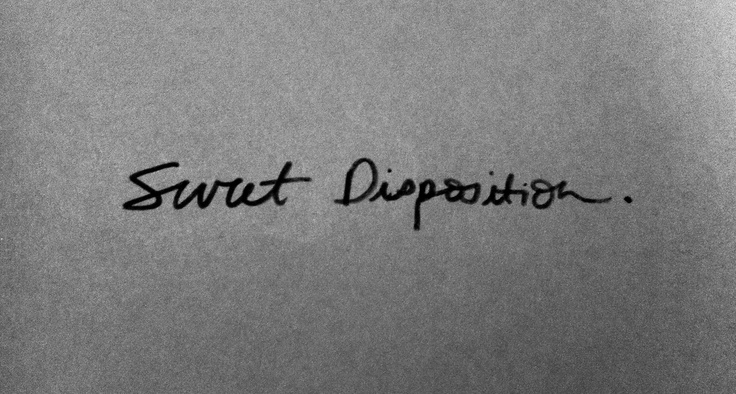 Sweet disposition - this song makes me feel like I could do anything.