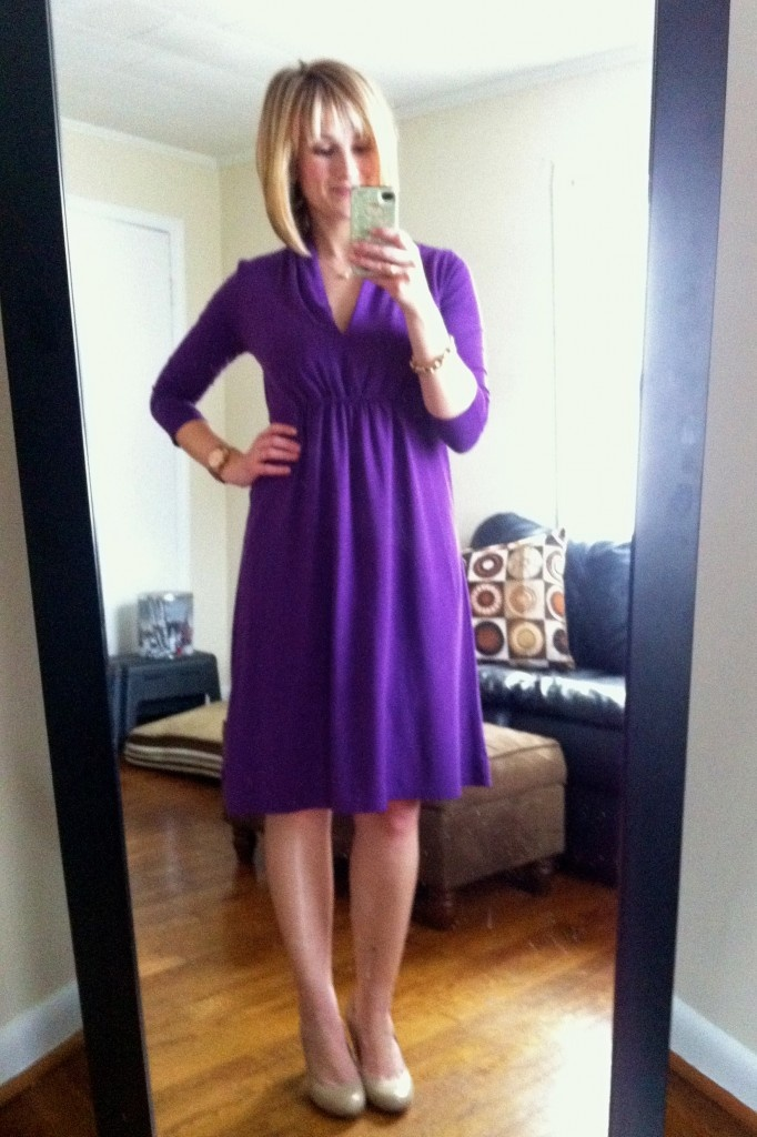 @Teri Zawrotny styles the Holliday Dress. Gorgeous, as always.