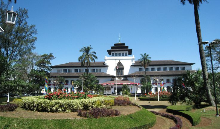 this is Gedung Sate symbol of Bandung