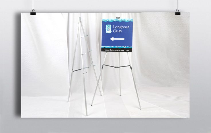 Portable & easy to assemble display easel. Can be used for a variety of display purposes such as signage, tableplans, paintings etc. http://www.prophouse.ie/portfolio/easels/