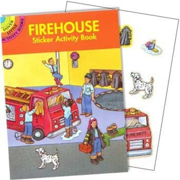 Check out Firefighter Sticker Book (each) - Cheap Party Decorations from Wholesale Party Supplies