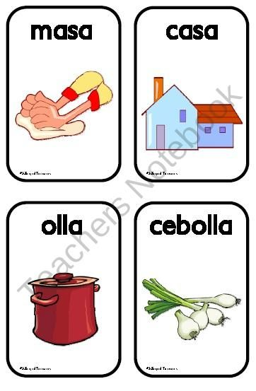 Juego de las Rimas product from Bilingual-Treasures on TeachersNotebook.com