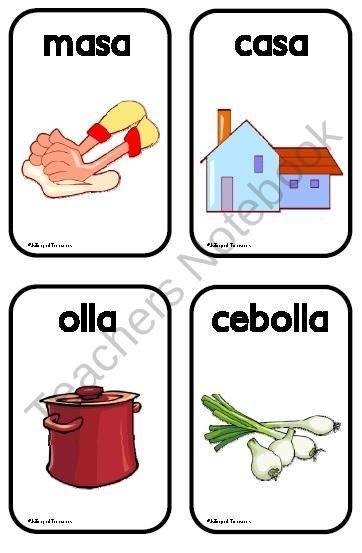 Juego de las Rimas product from Bilingual-Treasures on TeachersNotebook.com