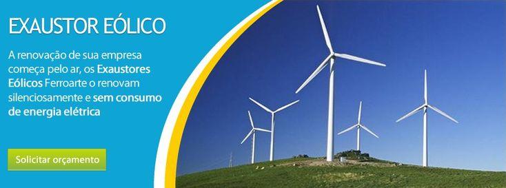 Energia Eólico Pura e gratuita.