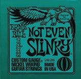 Ernie Ball 2626 Not Even Slinky Custom Gauge Nickel Wound Guitar Strings (.012 - .056)