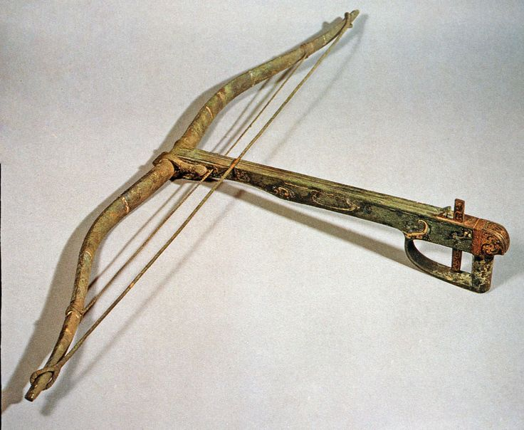 Bronze Crossbow from a war chariot excavated from the Tomb ...
