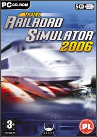 Trainz Railway Simulator 2006 (PC) okładka