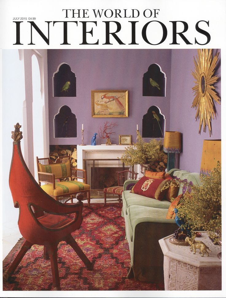 The World Of Interiors Juillet 2015 Maison Nicolo Castellini Baldissera Tanger Photo Roland