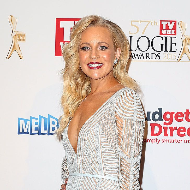 Carrie Bickmore nailing her Logies look.