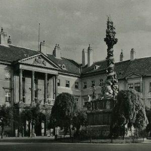 Sopron. Ferencz József tér