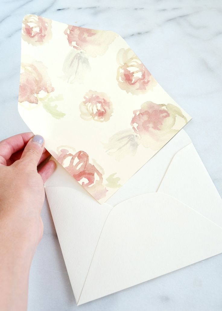 The  Best Diy Wedding Envelope Liners Ideas On   Diy