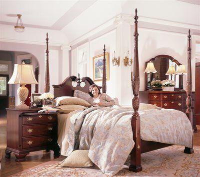 Kincaid furniture 60 137p carriage house broken pediment for Kincaid american journal bedroom furniture