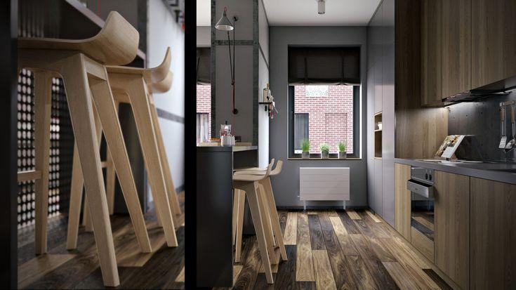 House of Big John - ALNO. Современные кухни: дизайн и эргономика | PINWIN - конкурсы для архитекторов, дизайнеров, декораторов