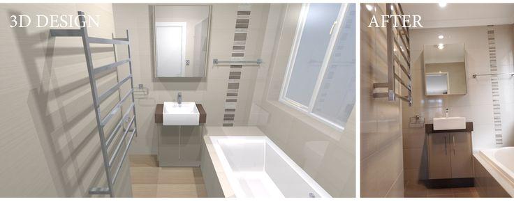 Designed and renovated by Bathroom Renovations Perth    www.bathroomrenovationsperth.com
