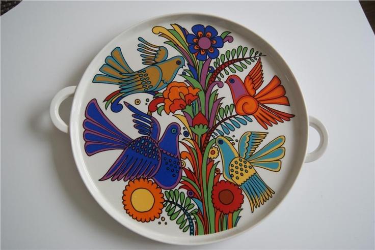 acapulco by villeroy boch ceramics pinterest acapulco and retro. Black Bedroom Furniture Sets. Home Design Ideas