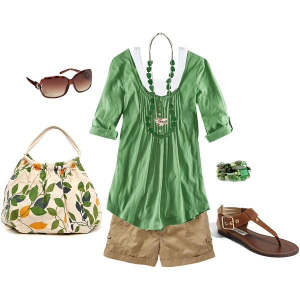 walking around casual.: Tasty Recipe, Style, Green Top, Bag, Spring Summer, Summer Outfits, Wardrobe, Celery Green, Spring Outfit