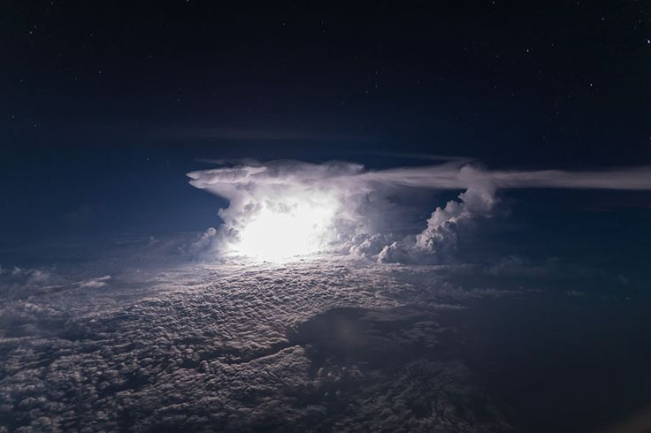 A Storm Over Colombian Amazonia