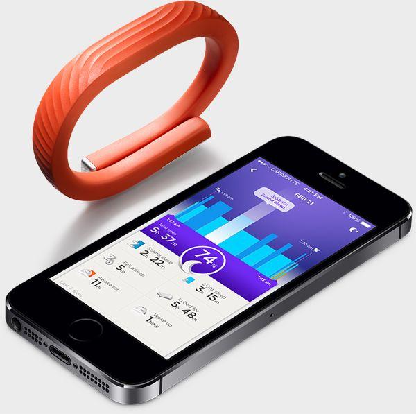 Jawbone Up Small - opaska monitorująca aktywność, wygodna i trwała. Śledzi Twoją aktywność jak i długość i jakość snu!