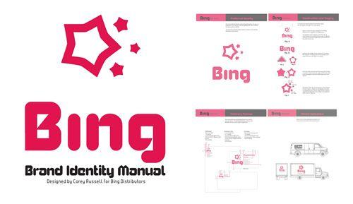 From my Portfolio: Bing Distributors - Identity Manual