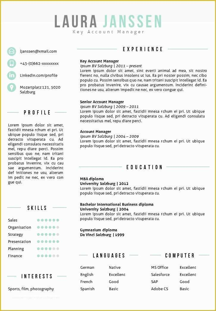 Free resume templates for mac of free resume templates mac