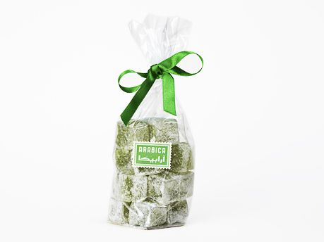 Our Authentic Mint Turkish Delight (Lokum) are lower in sugar and richer in natural flavour.  Suitable for Vegans, vegetarians and for those who have kosher or halal dietary requirements.