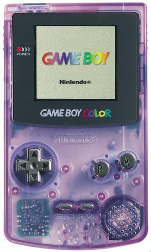 *:・゚✧ Nintendo GameBoy Color - Light Purple Console ✧・゚:*  I'm pretty sure that this is the color my son had.