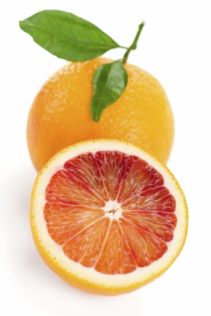 Orange Tarocco is a blood orange with medium sized fruit that is sweet and juicy.