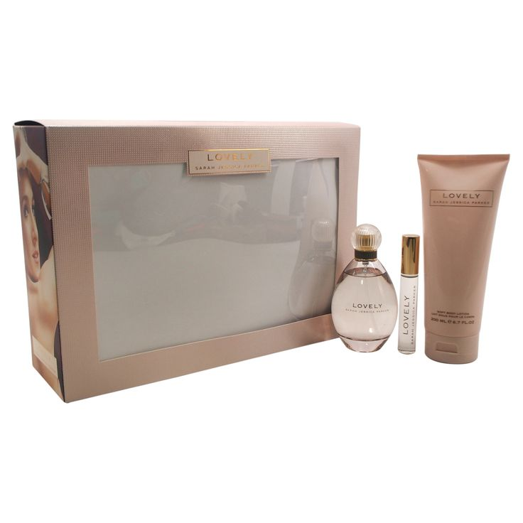 Lovely by Sarah Jessica Parker Women's Fragrance Gift Set - 3pc