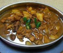 Chicken Pongteh (stewed chicken in fermented soyabean sauce)