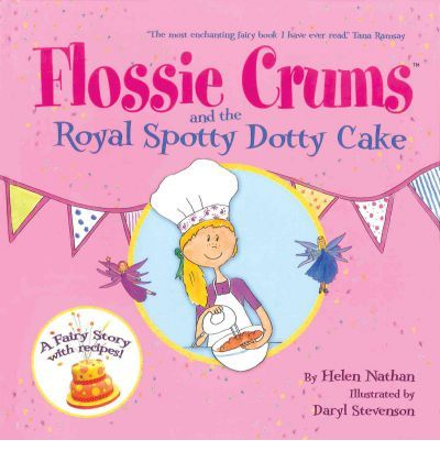 A brand new Flossie Crums adventure! Flossie Crums is back with some amazing new recipes for children to make in Flossie Crums and the Royal Spotty Dotty Cake, the third book in the very sucessful Flossie Crums series.