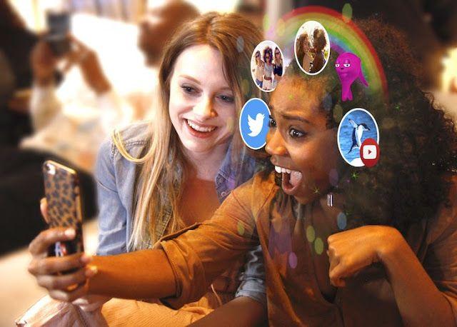 El reconocimiento facial de Blippar 'Halos' se une a la realidad aumentada para aportar funcionalidad y diversión