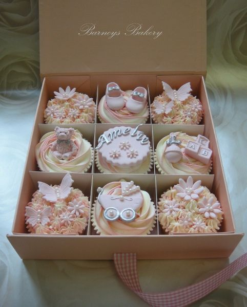 cupcake giftbox london. Gift boxes from Fold-A-Box Limited