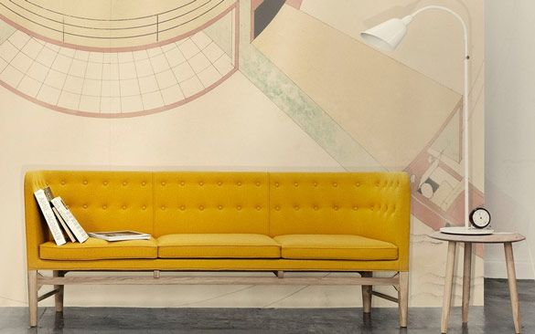Arne Jacobsen Mayor Sofa | NordicDesign