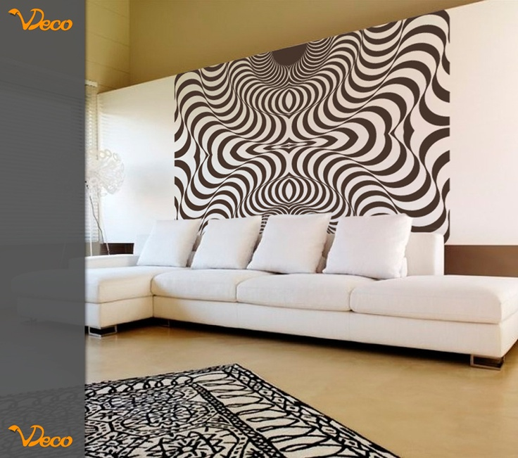 3D rectangular. Para pared. Tamaño y color a elección. Vdeco.