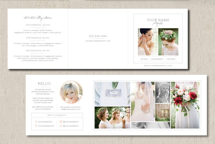 brochure design pricing - 1000 ideas about wedding photography pricing on pinterest