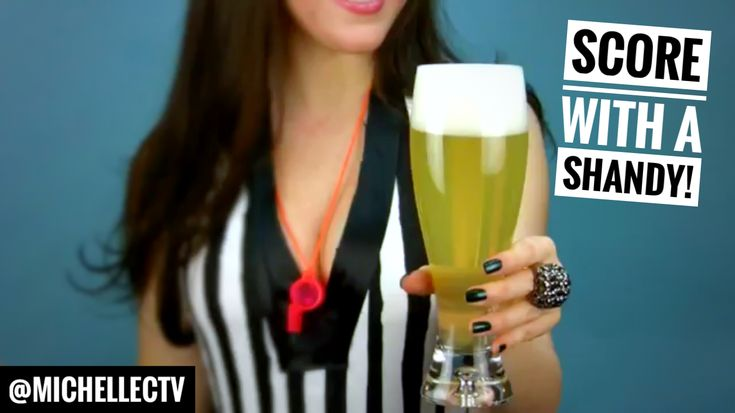 Score this 🏈#SuperBowl with 🍋🍺#Shandy #Beer #Cocktail #recipe #superbowlrecipe #beercocktail #cocktailrecipe #drinkrecipe #video