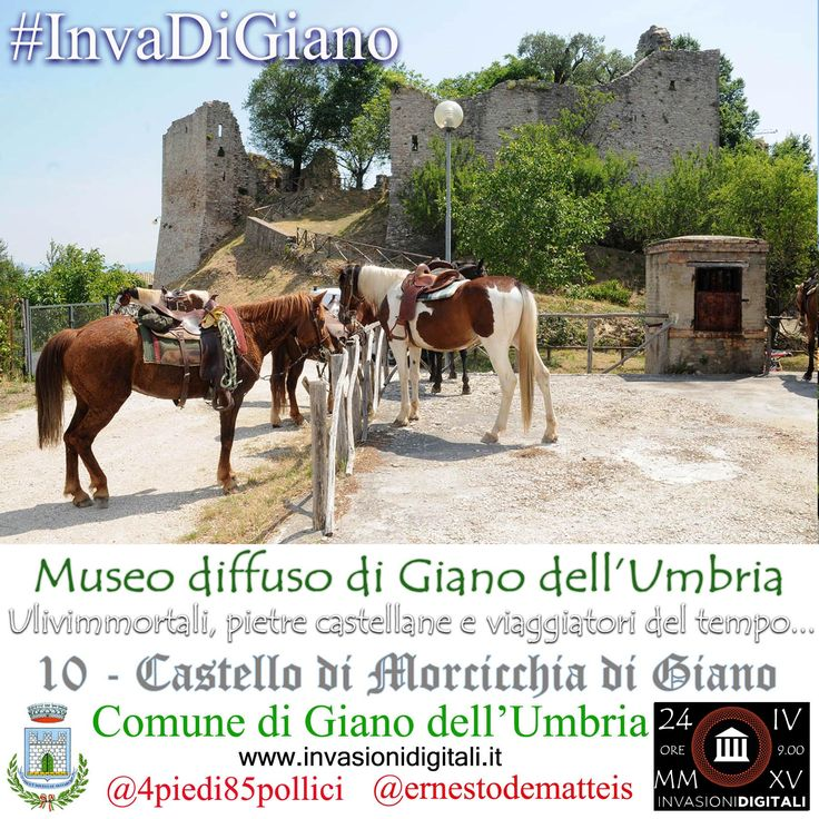 Castello di Morcicchia #InvaDiGiano2015 #invasionidigitali