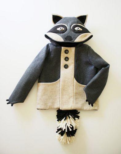 Cute Jacket (make as a fox?)
