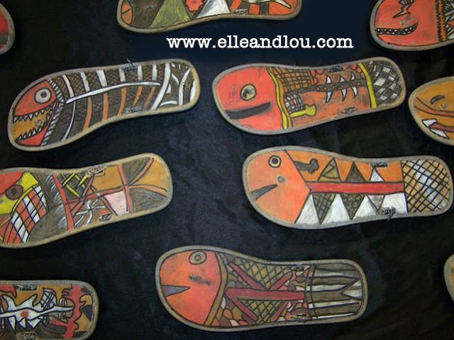 Elle and Lou: X-Ray Art for Children inspired by Aboriginal Art