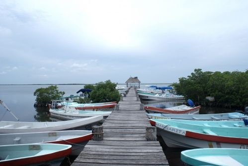 Punta Allen - Mexique - Péninsule du Yucatán Petit village de pêcheurs situé dans le Parc national marin de Sian Ka'an, véritable réserve de biosphère. On y mange de très bonnes langoustes ;-)