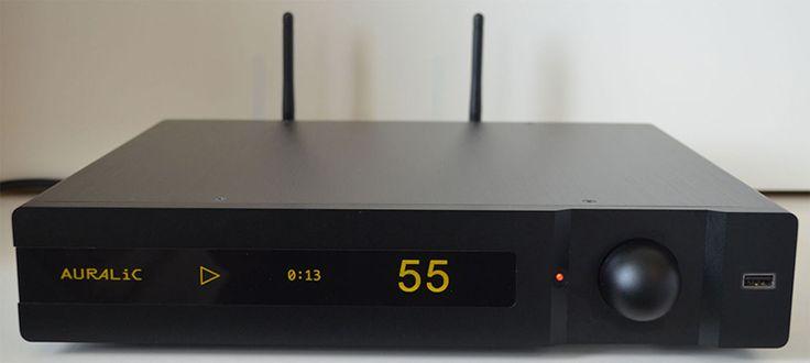 AURALiC POLARIS Wireless Streaming DAC Amplifier - Front View