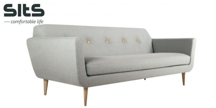 1290 € (1659 €) Kampanja: Otto-sohva 217 cm, Panno-kangas