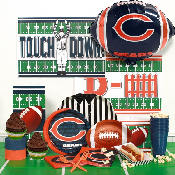 Birthday Celebration Chicago Style: 207 Best Chicago Bears Parties & Cakes Images On Pinterest