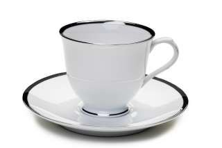 Platinum Band Cups and Saucers