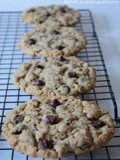 Dories Chunky Peanut Butter And Oatmeal Chocolate Chipsters