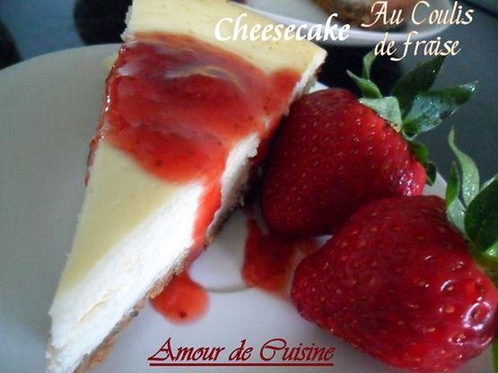 cheesecake a la ricotta bien fondant - Amour de cuisine
