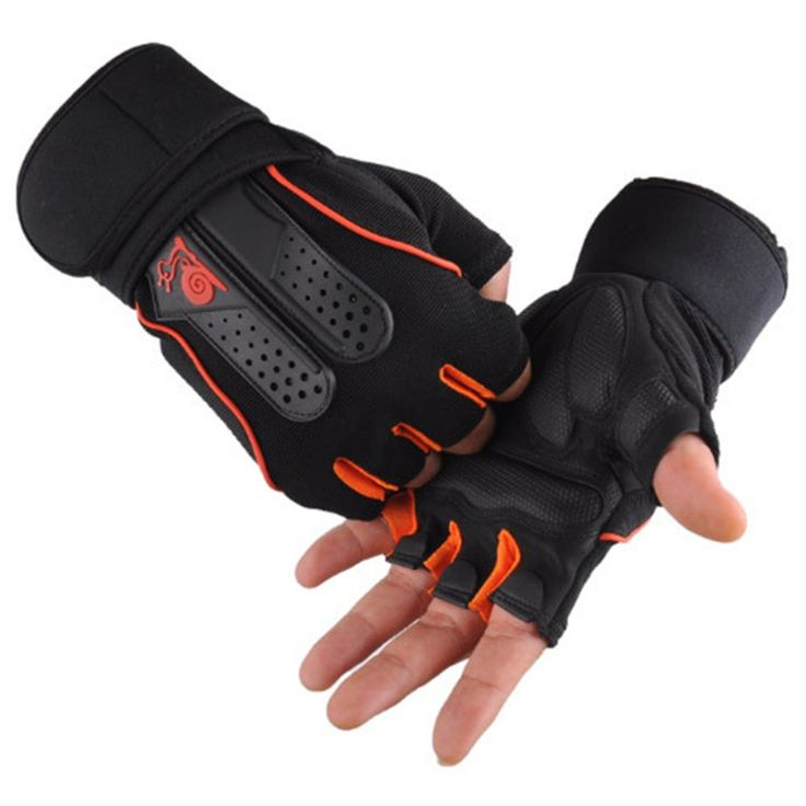 1pair Cycling Gloves Fitness Exercise Training Gym Gloves Half Finger Weightlifting Gloves Multifunction for Men Women Hot sale